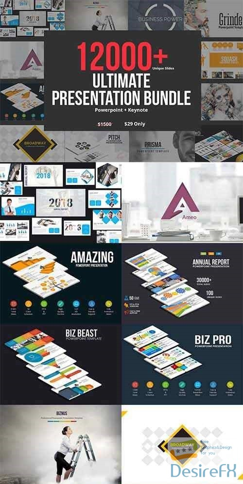 powerpoint - 2018 Ultimate Bundle - 60 Templates 2819238