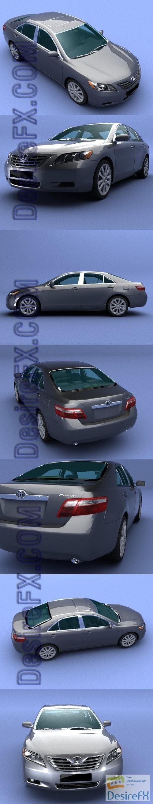 3d-models - Toyota Camry 2010 3D Model