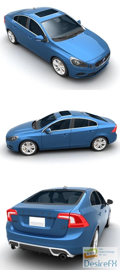 Volvo S60 3D Model