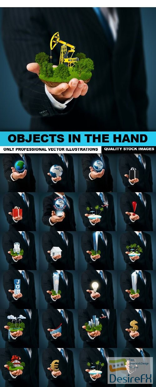 stock-images - Objects In The Hand - 25 HQ Images