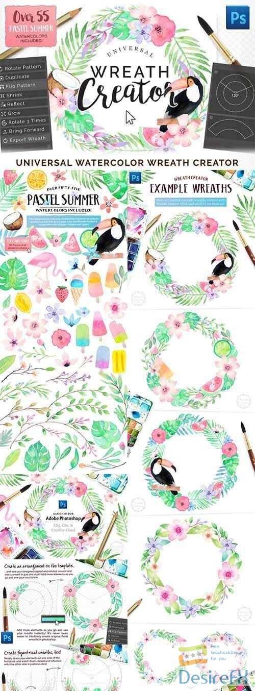 photoshop - Universal Wreath Creator Pro 2805021