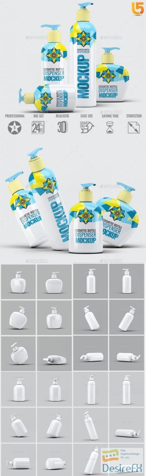 mock-up - Dispenser Bottles Mock-Up Bundle - 22514523