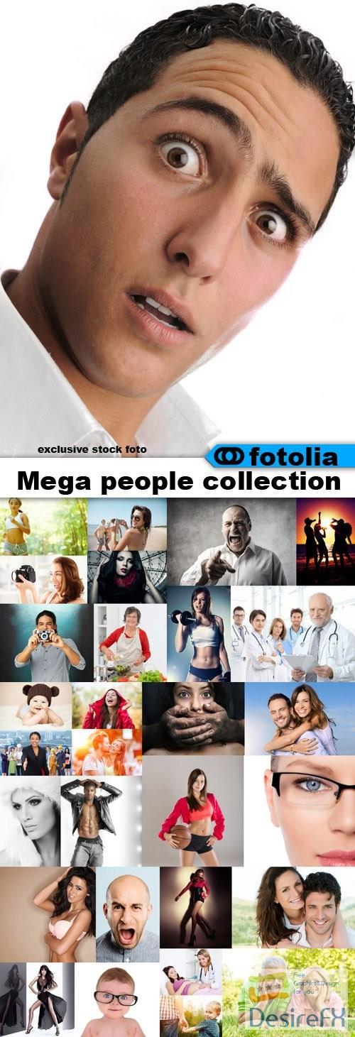 stock-images - Mega People Collection 1500 HQ Foto