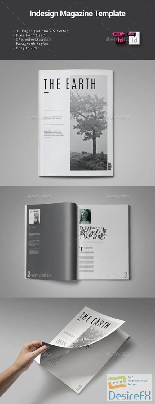 other - 32 Pages Indesign Magazine Template 9112619