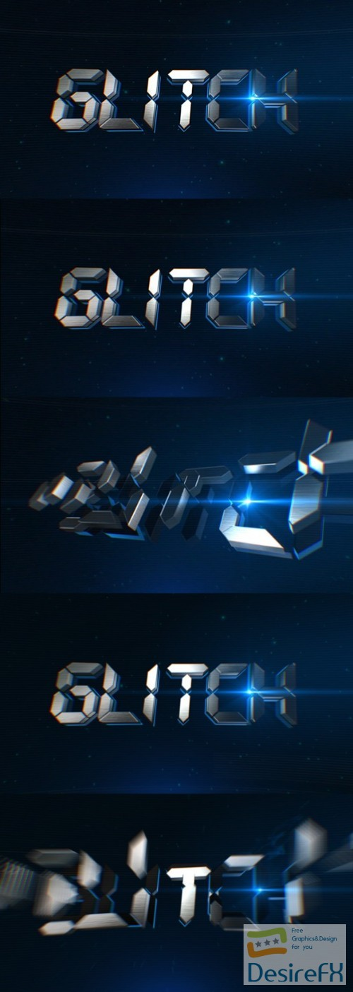 after-effects-projects - Videohive Glitch Logo Reveal 14137544