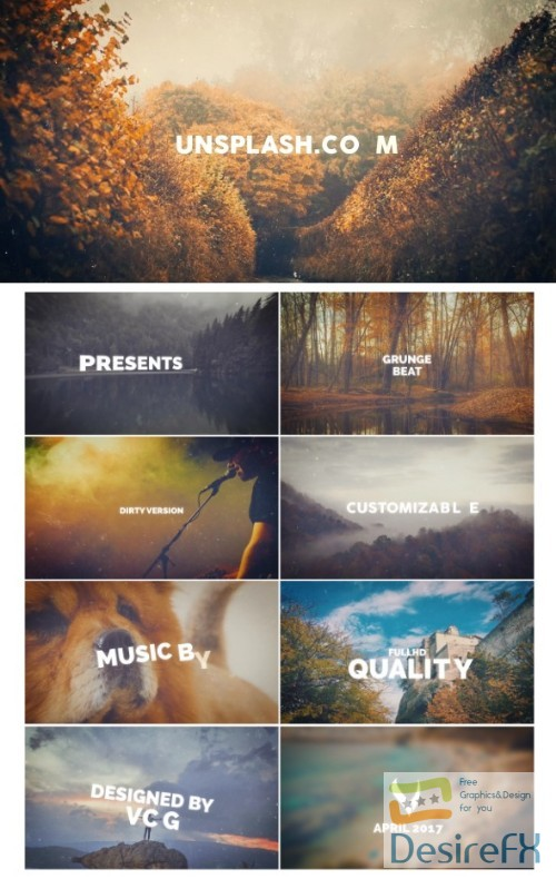 after-effects-projects - Videohive Grunge Beat Opener 19832951