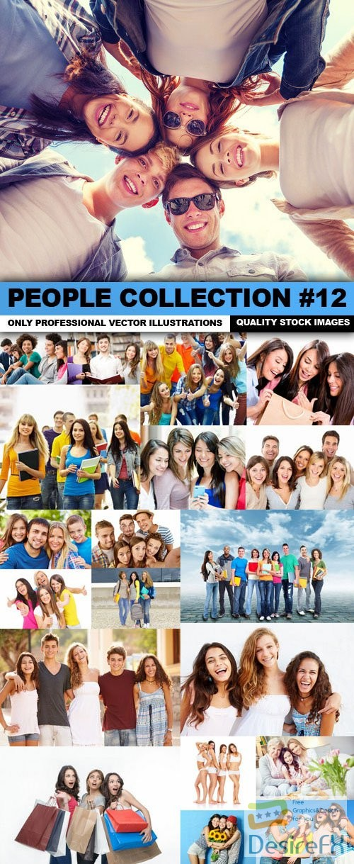 stock-images - People Collection #12 - 25 HQ Images