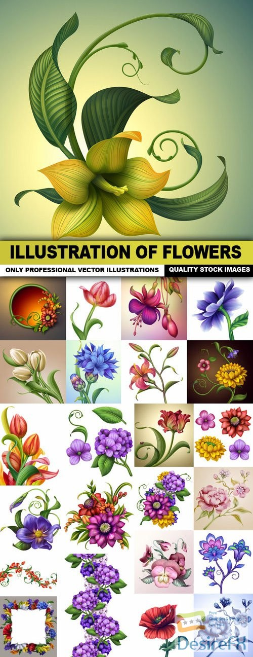 stock-images - Illustration Of Flowers - 25 HQ Images