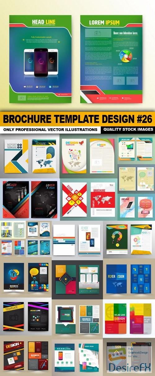 stock-vectors - Brochure Template Design #26 - 25 Vector