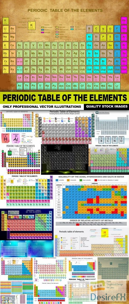 Desirefx download free periodic table of the elements 23 vector stock vectors periodic table of the elements 23 vector urtaz Images