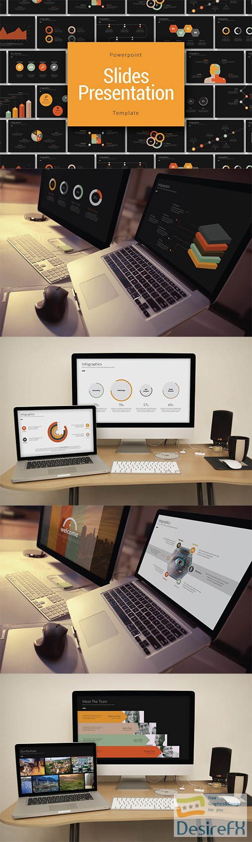 powerpoint - Company Presentation Template - PPTX