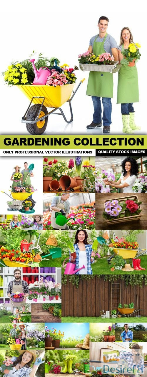 stock-images - Gardening Collection - 25 HQ Images