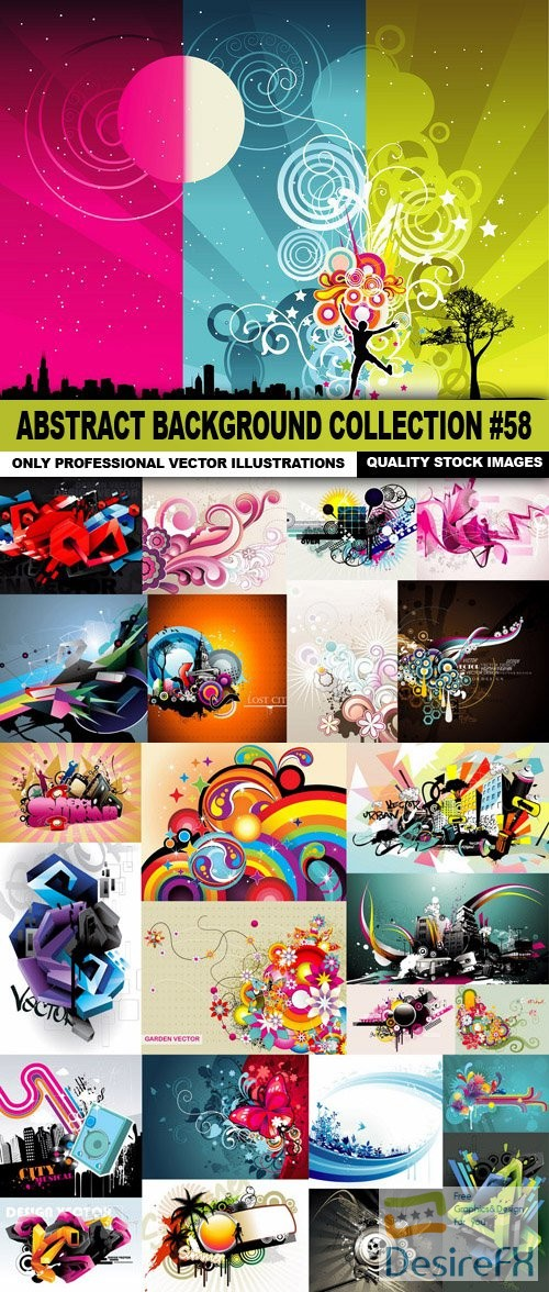 stock-vectors - Abstract Background Collection #58 - 25 Vector