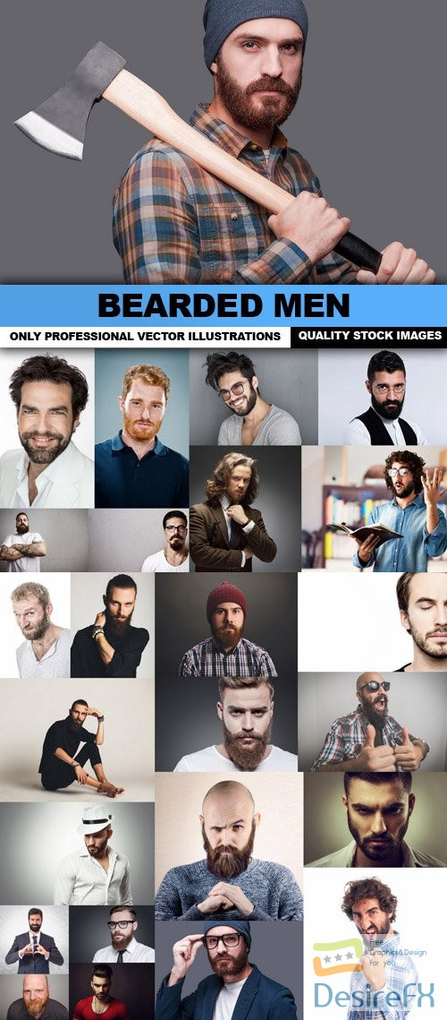 stock-images - Bearded Men - 25 HQ Images