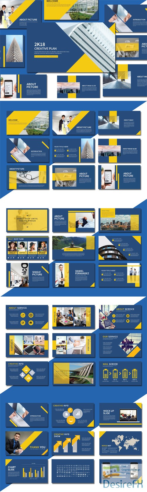 powerpoint - Creative Presentation Template [PPT/PPTX]