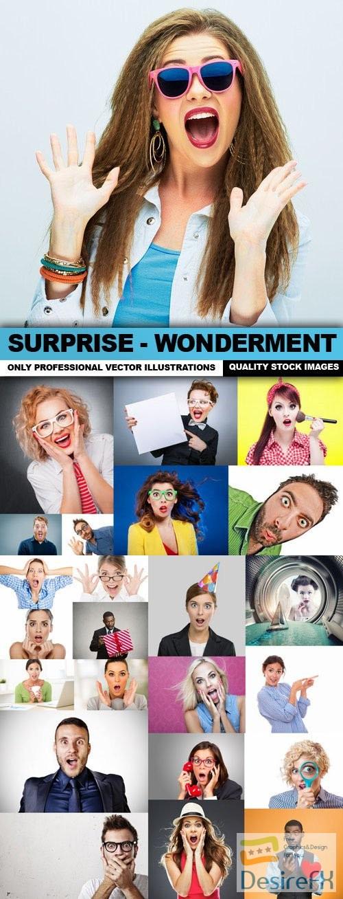 stock-images - Surprise - Wonderment - 25 HQ Images