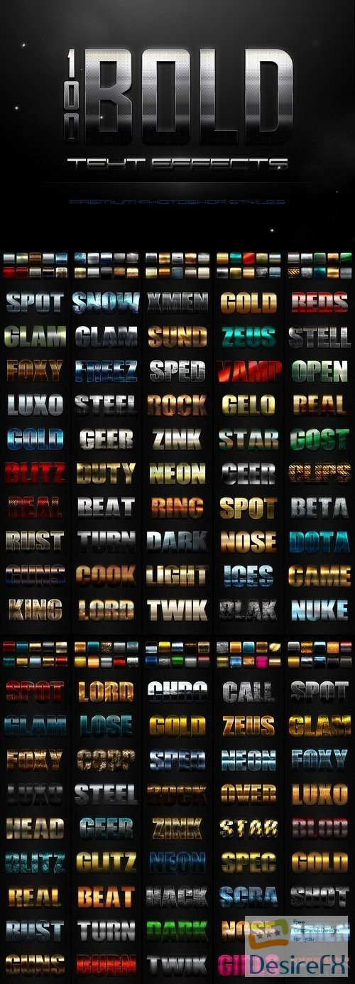 styles-asl - 100 Bold Text Effects