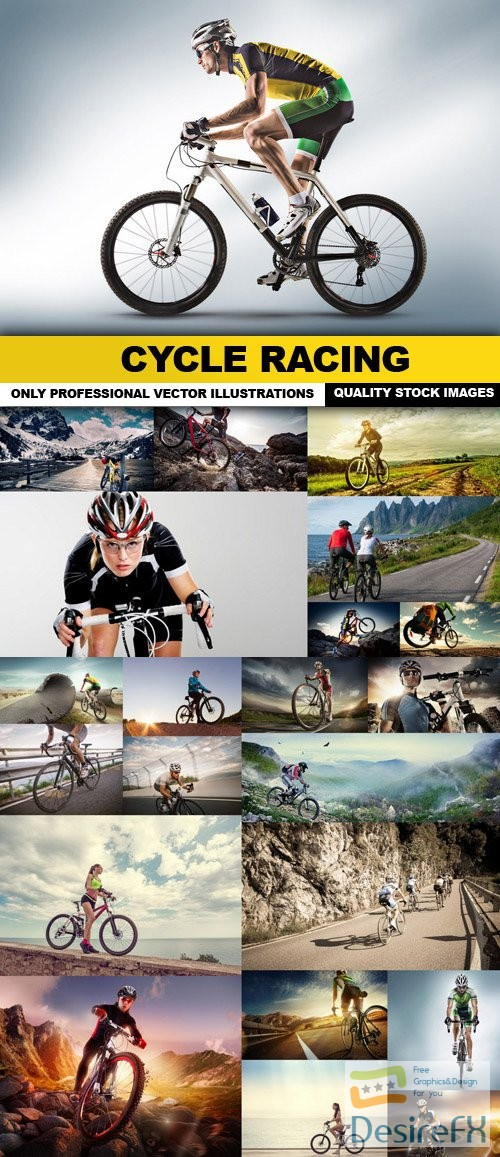 stock-images - Cycle Racing - 25 HQ Images