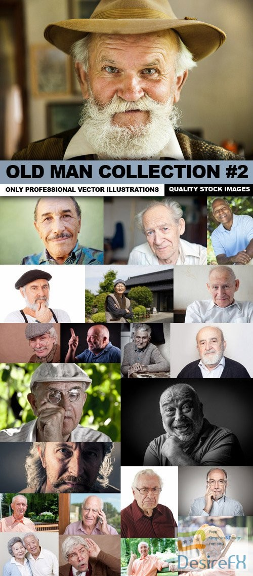 stock-images - Old Man Collection #2 - 25 HQ Images