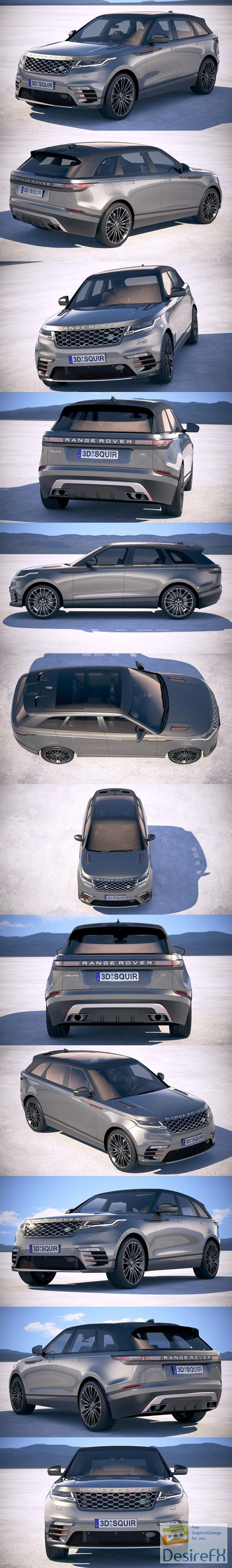 3d-models - Land Rover Range Rover Velar 2018 3D Model