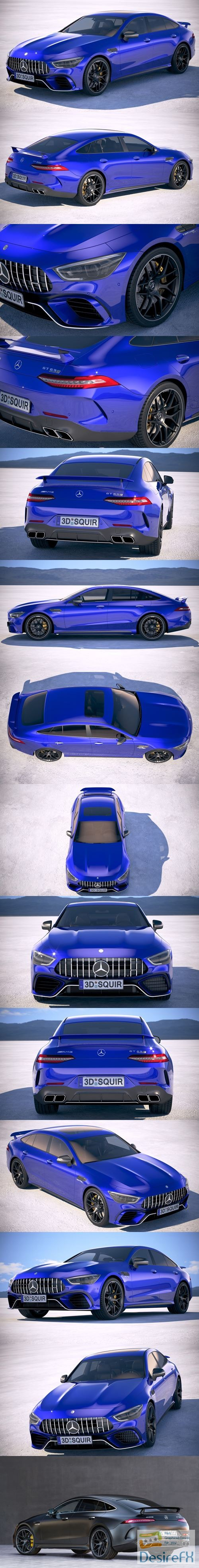 3d-models - Mercedes AMG GT63 2019 3D Model