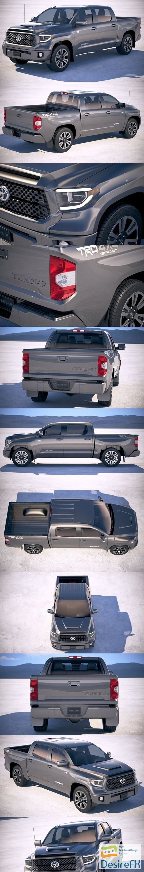 3d-models - Toyota Tundra TRD 2018 3D Model
