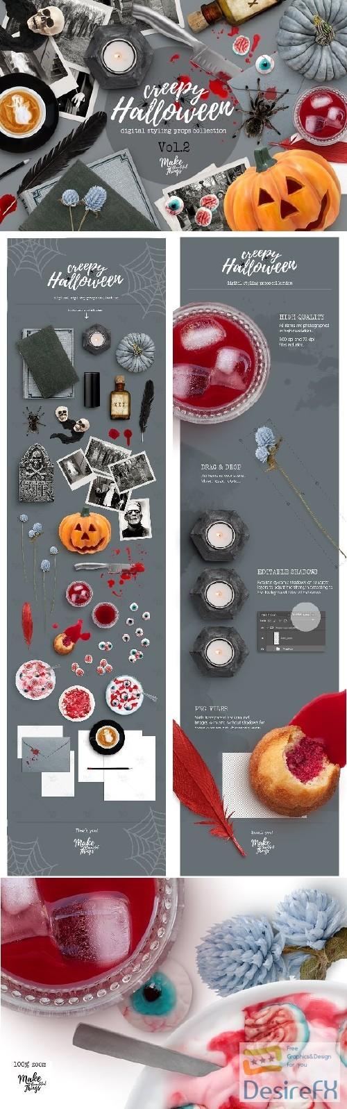 mock-up - Halloween Scene Creator - 2891823