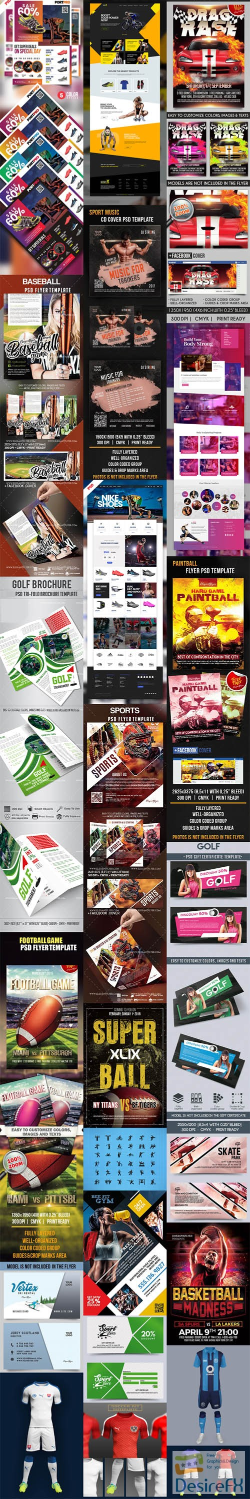 layered-psd - Different & Exclusive PSD Templates for Sport