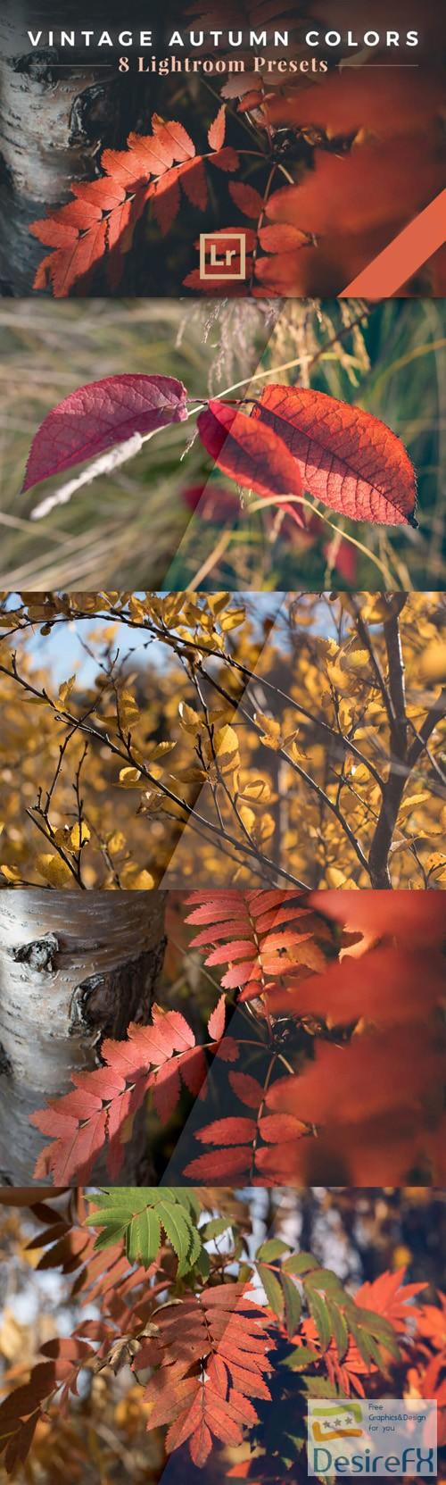 photoshop - Vintage Autumn Colors - 8 Lightroom Presets [JPEG/RAW]