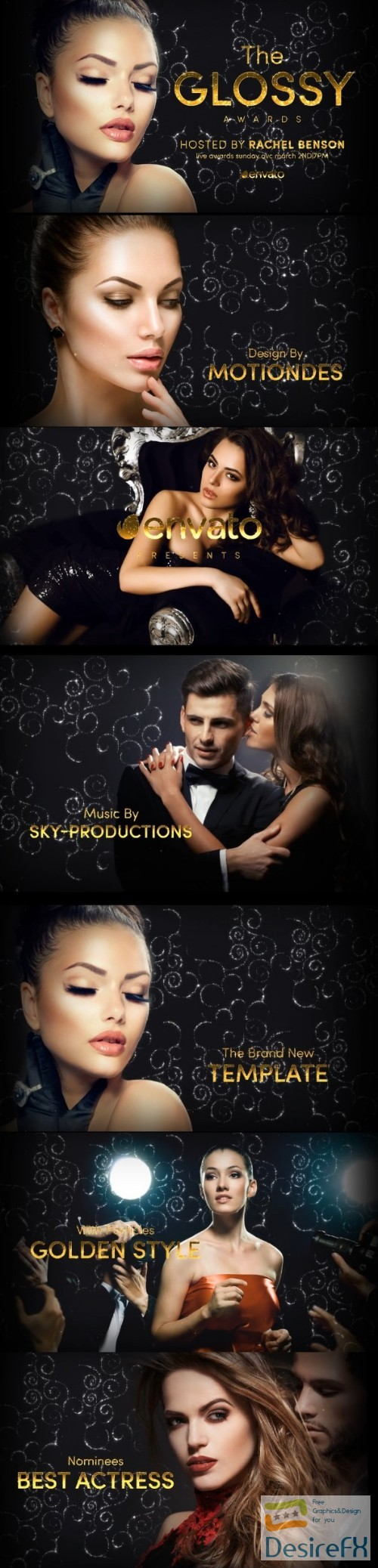 after-effects-projects - Videohive The Glossy Awards 22382757