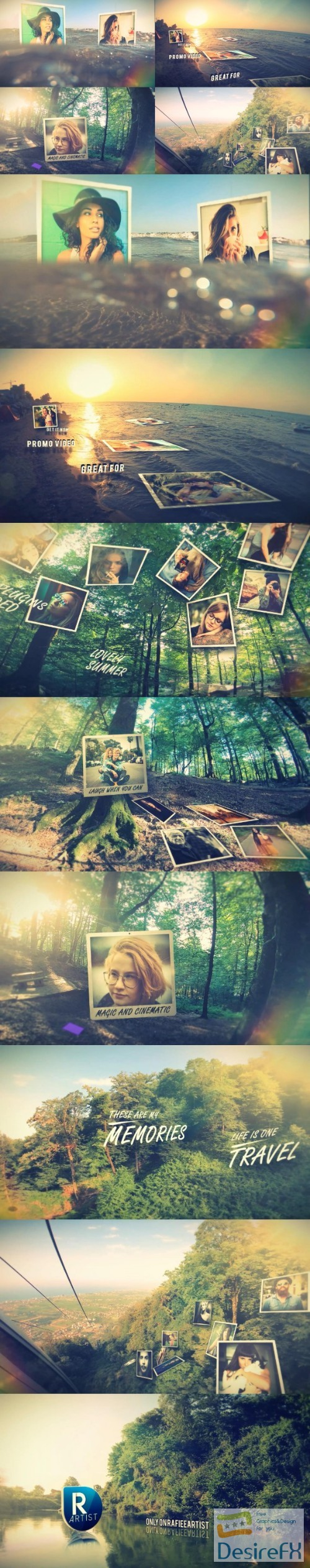 after-effects-projects - Videohive Cinematic Photo Slide 22381060