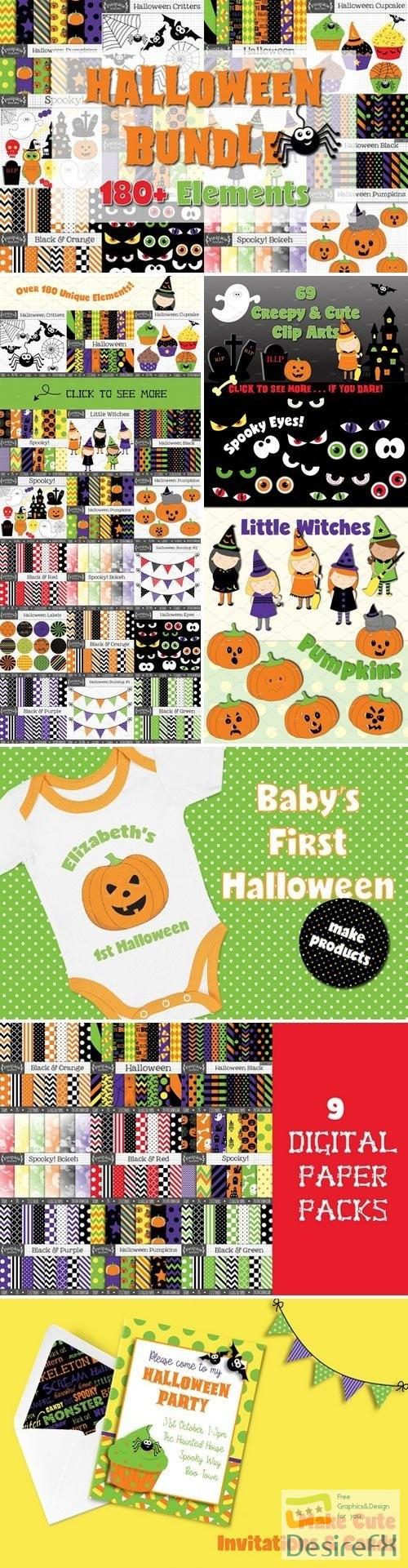 stock-images - Halloween Graphics Bundle 2779000