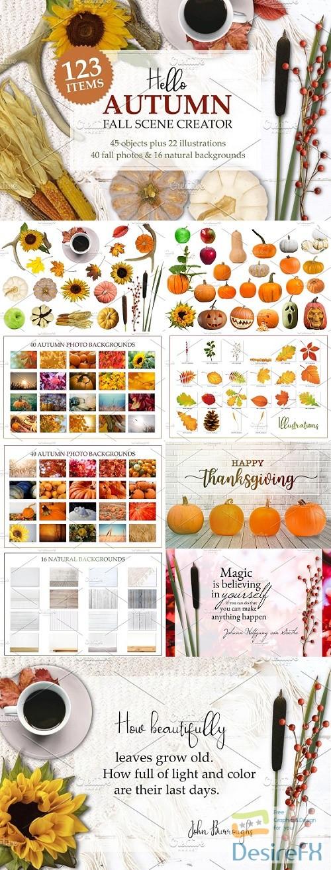 stock-images - Autumn Mockup Scene Creator - 2952342