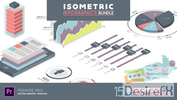 premiere-pro - Videohive Isometric Infographics Bundle Premiere Pro 22543039