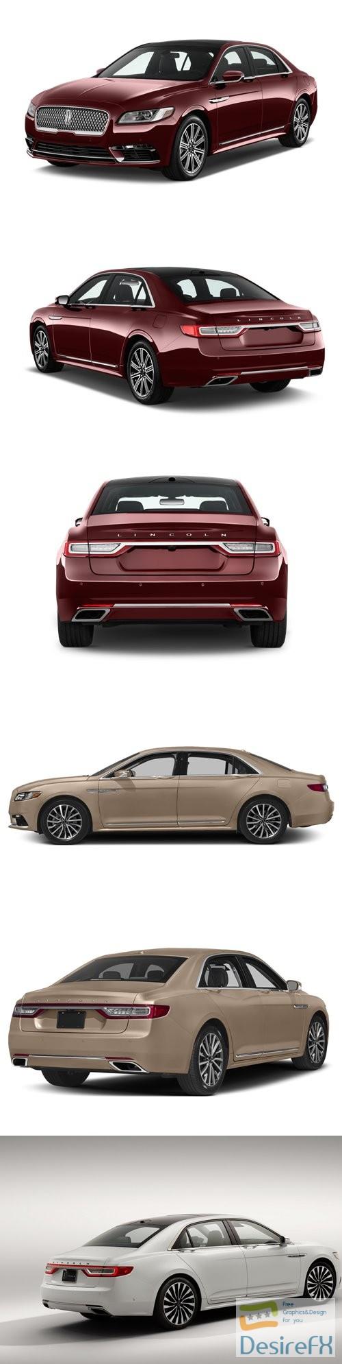 3d-models - Lincoln Continental 2017 3D Model