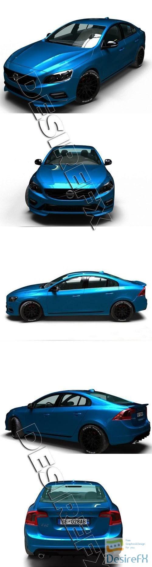 3d-models - Volvo S60 Polestar 3D Model