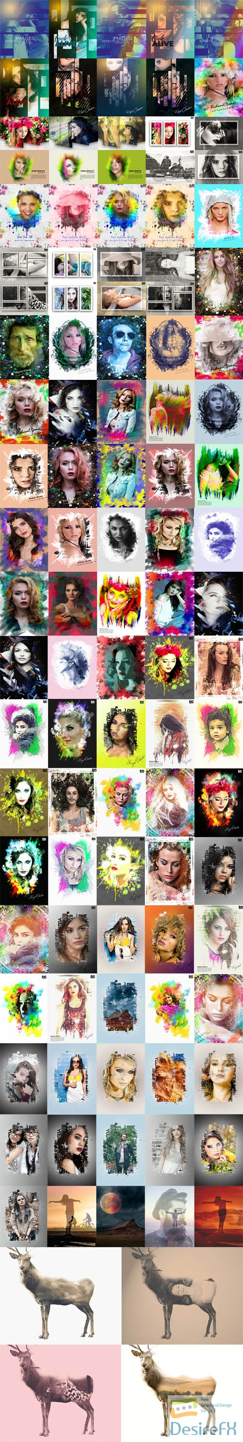 layered-psd - Awesome Collection of Photo Effects & Manipulation Templates in PSD