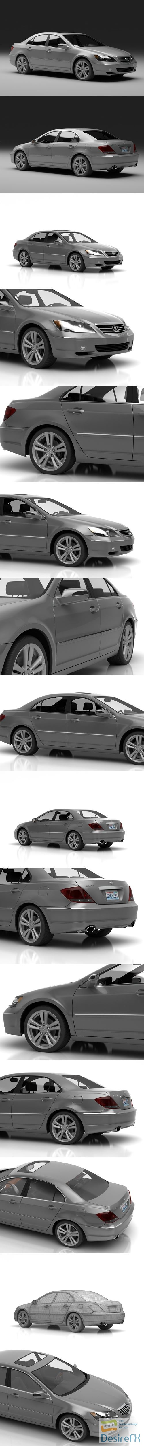 3d-models - Acura ML 3D Model