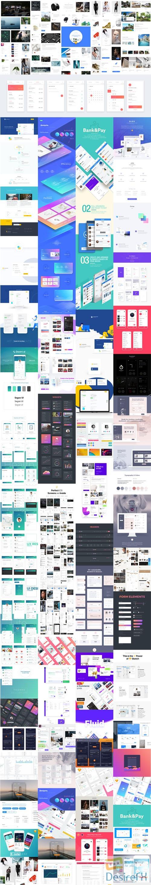 photoshop - 50+ Best UI Design Kits of 2017-2018
