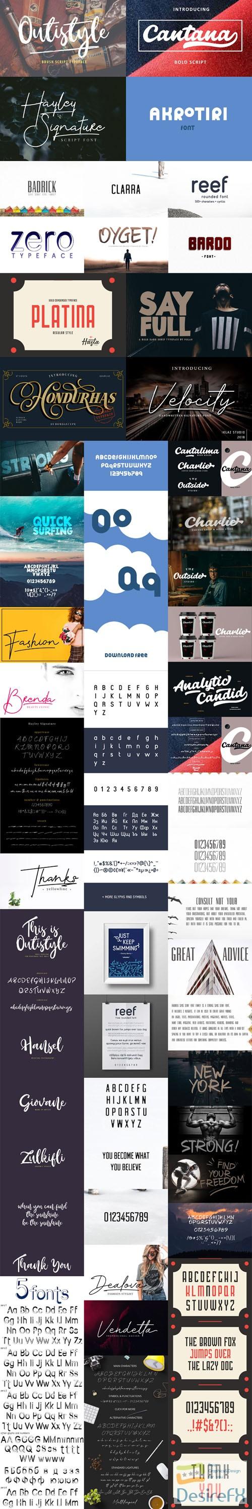 fonts - 14 Fonts Collection (Multilingual) [TTF/OTF/WebFonts Kit]