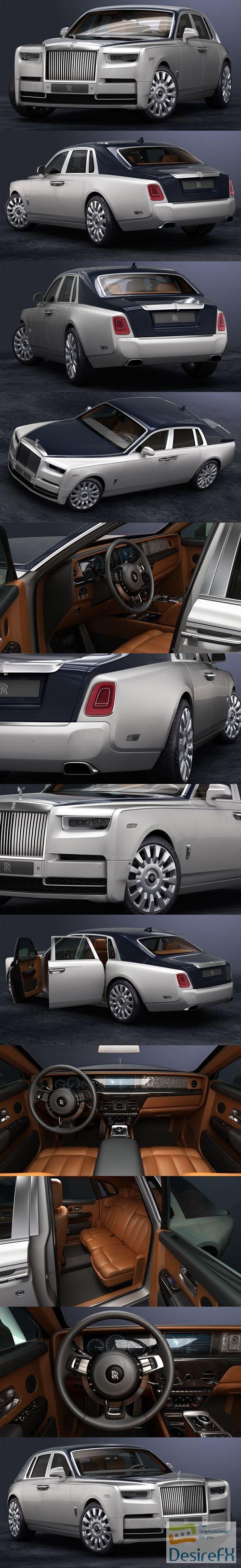 3d-models - Rolls-Royce Phantom 2018 3D Model