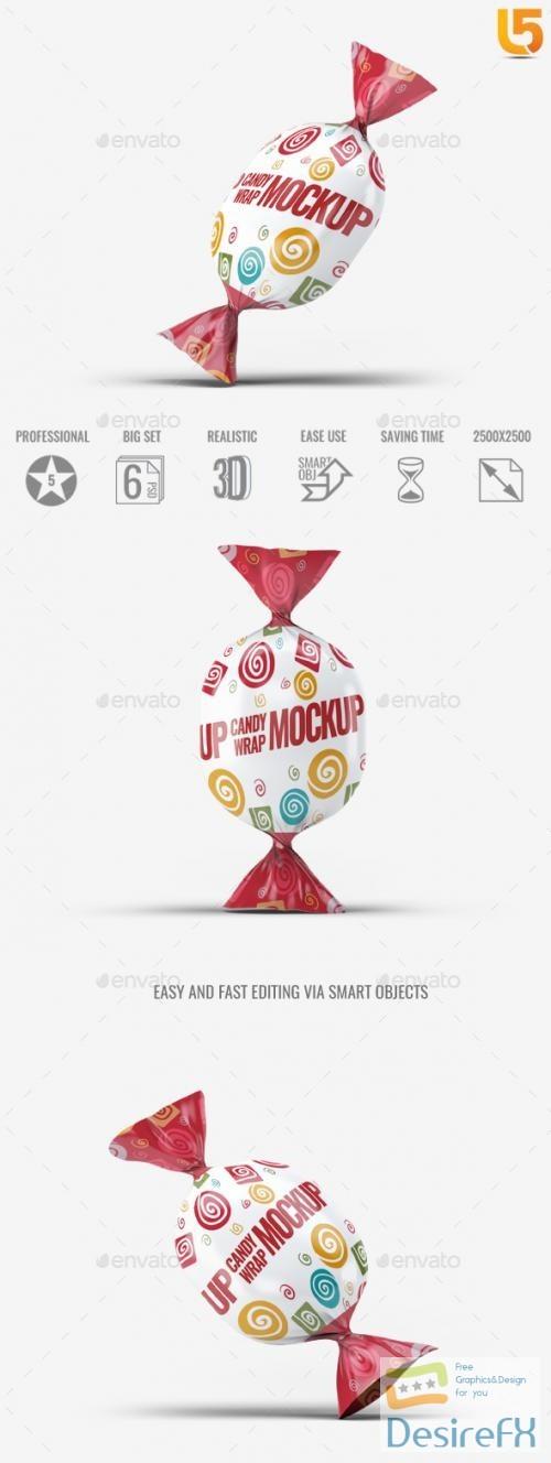 mock-up - Candy Wrap Mock-Up - 22548722