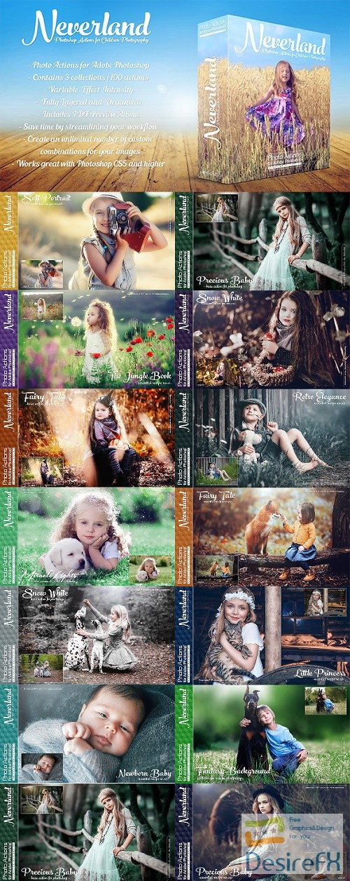 actions-atn - Actions for Photoshop / Neverland 22323969
