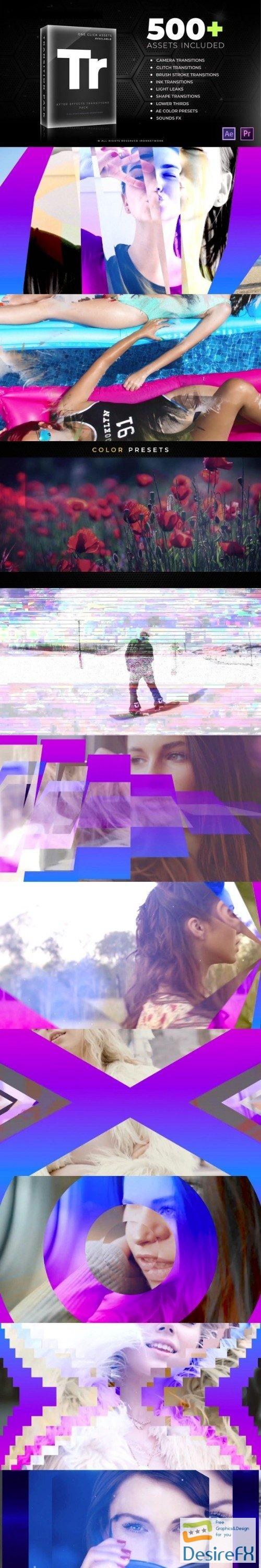 after-effects-projects - Videohive Transitions V2 21637768