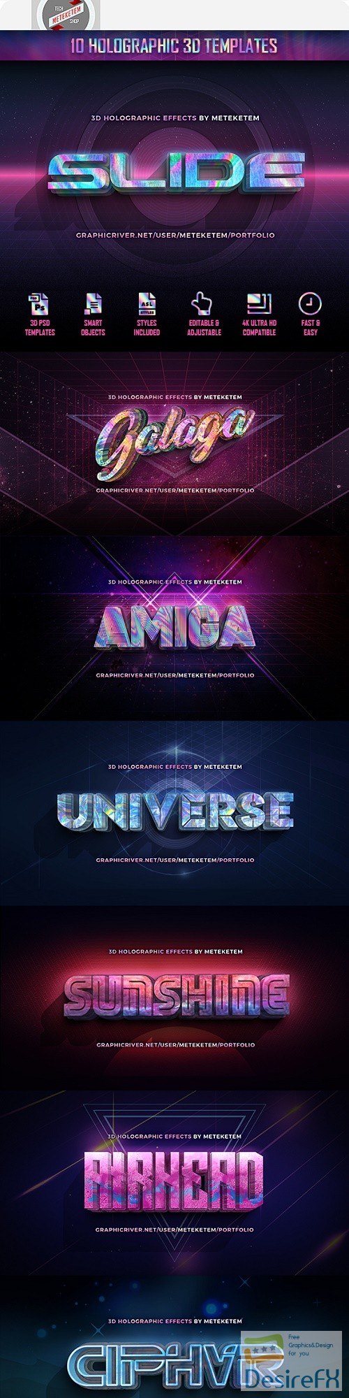 styles-asl - 3D Holographic Text Effects 22377756