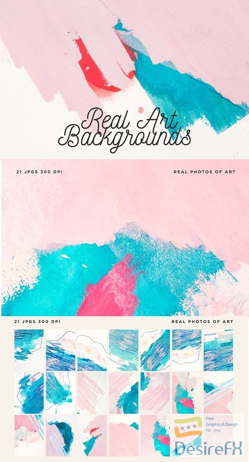 21 Real Art Backgrounds/Textures - 2869192