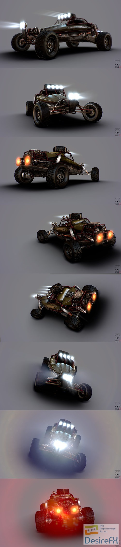 3d-models - Lynx DCC Buggy 3D Model