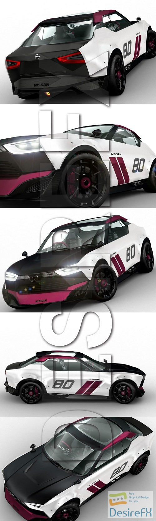 Nissan NISMO IDX Concept 3D Model