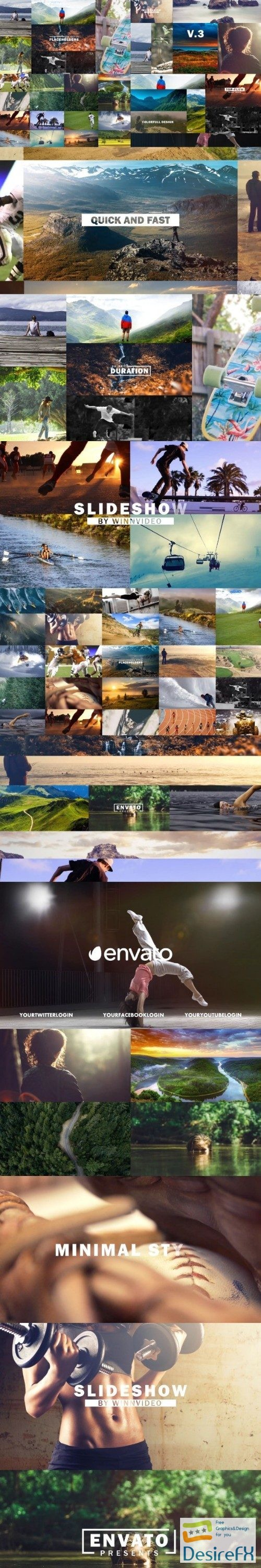 after-effects-projects - Videohive The Slideshow V3 20544538