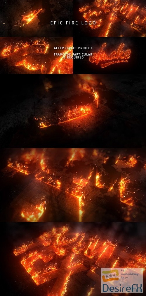 after-effects-projects - Videohive Epic Fire Logo 20431154